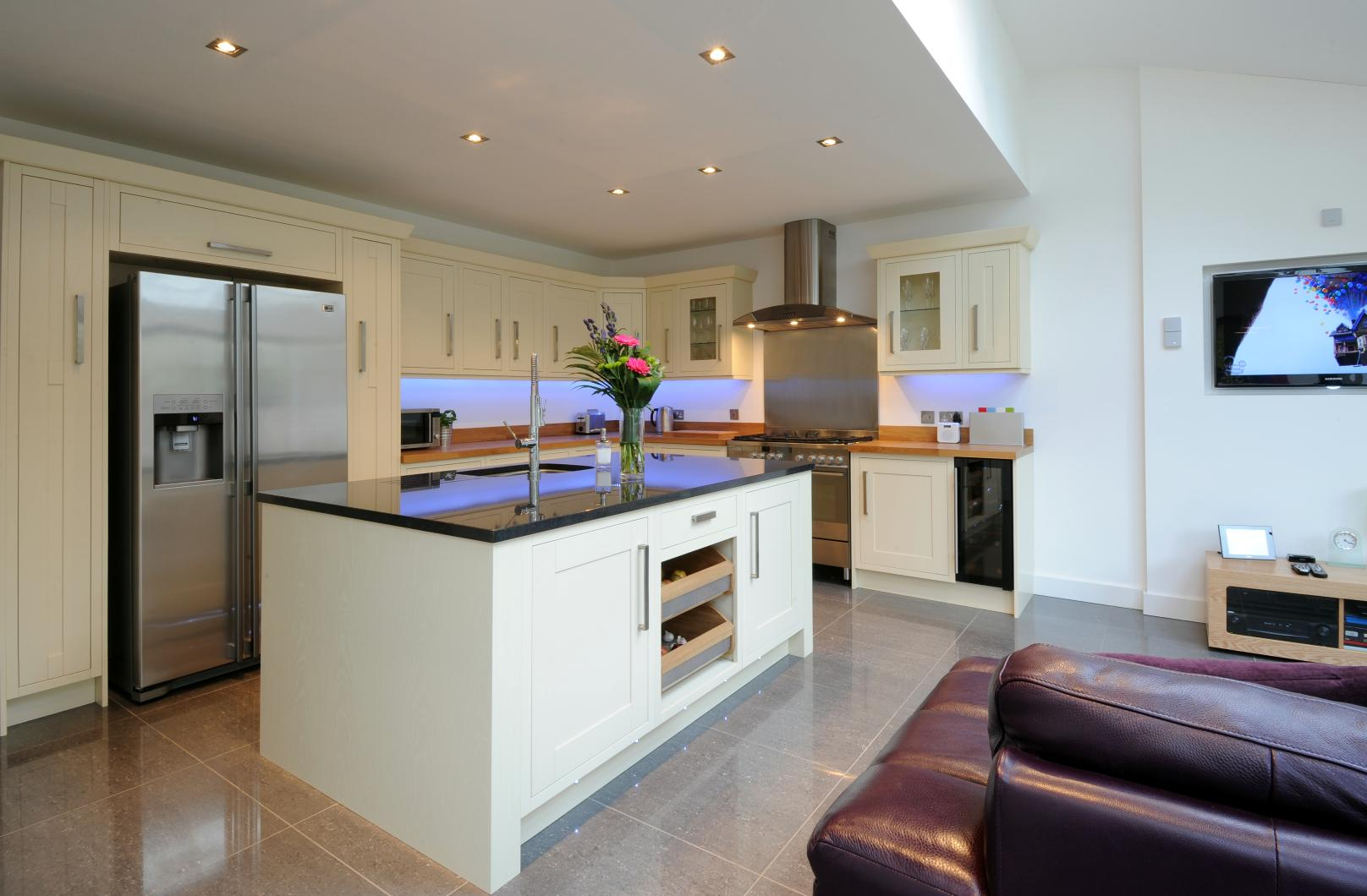 Hannah barnes interior designs kitchen design for Pictures of kitchen plans