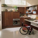 Kitchen for the disabled