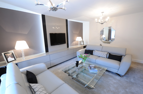 Hannah Barnes Interior Designs Living Room Project In Manchester